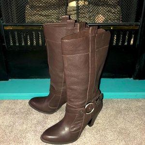 "Gianni Bini ""Kai"" Genuine Leather Boots"